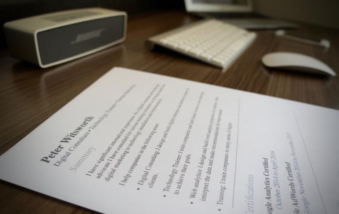 Radio-English-Resume-pic